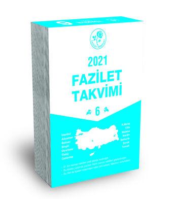 2021 Yurtiçi 6 Blok Takvimi
