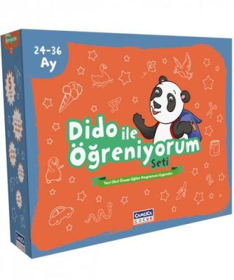 3 Yaş (24-36) Dido ile Öğreniyorum Eğitim Seti