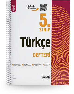 5. Sınıf Türkçe Ders Defteri