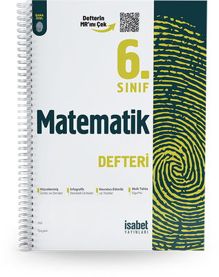 6. Sınıf Matematik Ders Defteri