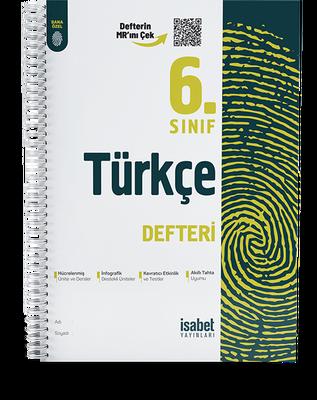 6. Sınıf Türkçe Ders Defteri