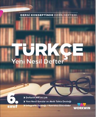 6.Sınıf Türkçe Yeni Nesil Ders Defteri