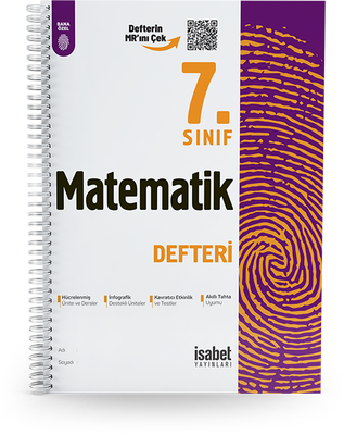 7. Sınıf Matematik Ders Defteri