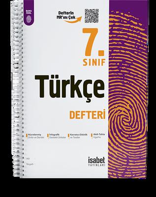 7. Sınıf Türkçe Ders Defteri