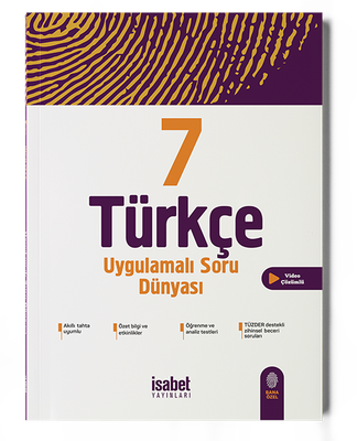 7. Sınıf Türkçe Uygulamalı Soru Dünyası