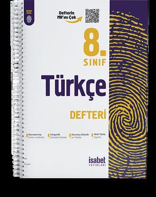 8. Sınıf Türkçe Ders Defteri