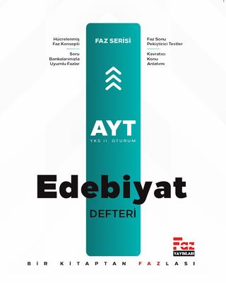 AYT Türk Dili Ve Edebiyatı Defteri