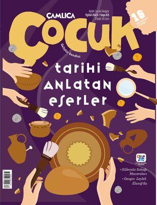 Çamlıca Çocuk Dergisi (Eylül) S.063