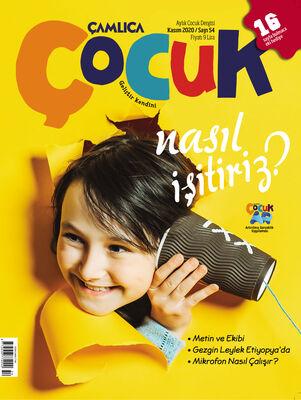 Çamlıca Çocuk Dergisi (Kasım) S.054