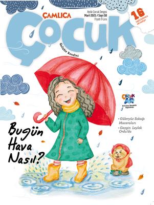 Çamlıca Çocuk Dergisi (Mart) S.058