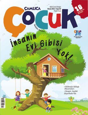 Çamlıca Çocuk Dergisi (Nisan) S.059
