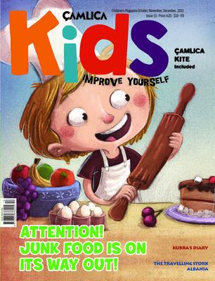 Çamlıca Kids Magazine S.013