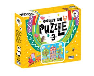 Çocuklar İçin Puzzle - 3 (Kutulu)