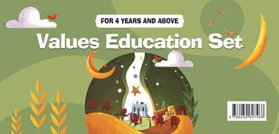 Değerler Eğitimi Seti - 4 Yaş ve Üzeri (İngilizce)