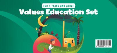 Değerler Eğitimi Seti - 5 Yaş ve Üzeri (İngilizce)