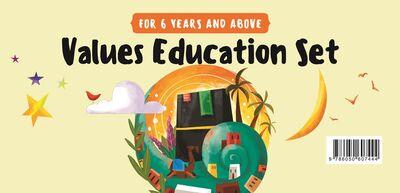 Değerler Eğitimi Seti - 6 Yaş ve Üzeri (İngilizce)