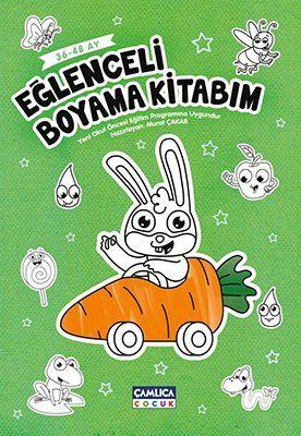 Eğlenceli Boyama Kitabım 36 48 Ay Okul öncesi çamlica çocuk Yayinlari