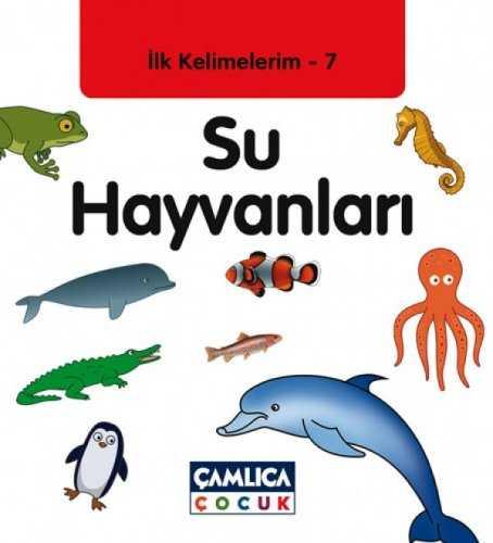 Ilk Kelimelerim 7 Su Hayvanlari Okul Oncesi Camlica Cocuk