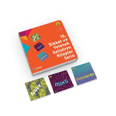 IQ, Dikkat ve Yetenek Geliştiren Kitaplar (İlkokul) Serisi Level 2 - Solve, Mind, Crossword