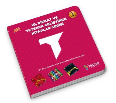 IQ, Dikkat ve Yetenek Geliştiren Kitaplar Serisi level 3 (Okul Öncesi) - Coordınate,Matrıx,Algorıthm