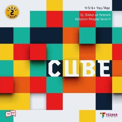 IQ, Dikkat ve Yetenek Geliştiren Kitaplar Serisi 4 (Okul Öncesi) - Cube