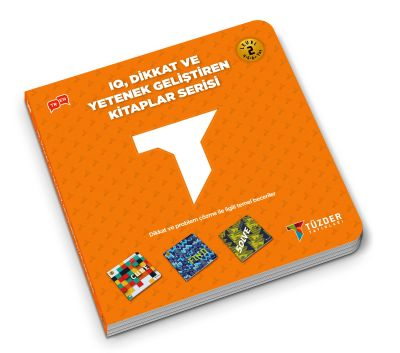 IQ, Dikkat ve Yetenek Geliştiren Kitaplar Serisi Level 2 (Okul Öncesi) - Cube,Fınd,Solve