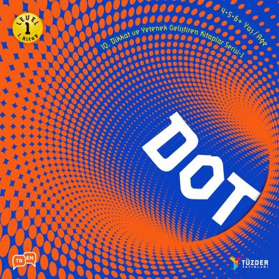 IQ, Dikkat ve Yetenek Geliştiren Kitaplar Serisi 1 (Okul Öncesi) - Dot