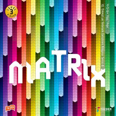 IQ, Dikkat ve Yetenek Geliştiren Kitaplar Serisi 8 (Okul Öncesi) - Matrix