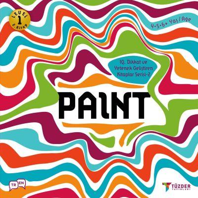 IQ, Dikkat ve Yetenek Geliştiren Kitaplar Serisi 2 (Okul Öncesi) - Paint
