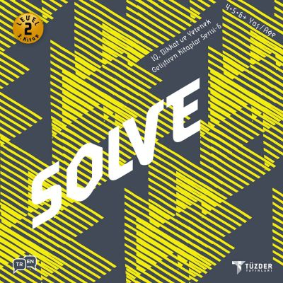 IQ, Dikkat ve Yetenek Geliştiren Kitaplar Serisi 6 (Okul Öncesi) - Solve
