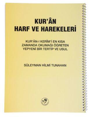 Kur'an Harf ve Harekeleri Spiralli (Büyük)