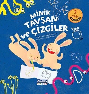 Minik Tavşan Serisi-9 (Çizgiler)