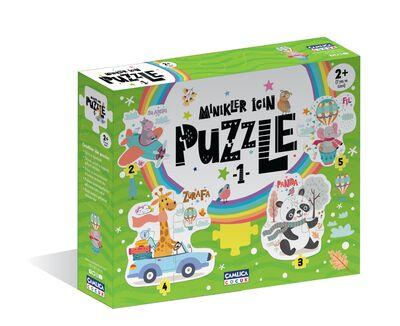 Minikler İçin Puzzle - 1 (Kutulu) Okul Öncesi