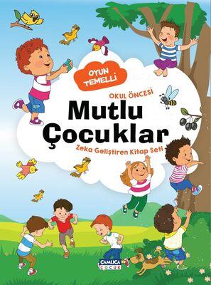 Mutlu Çocuklar - Zeka Geliştiren Kitap Seti