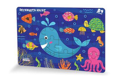 Okyanusta Hayat (Eğlenceli Puzzle 3)