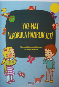 Yaz Mat İlkokula Hazırlık Seti (2 Kitap)