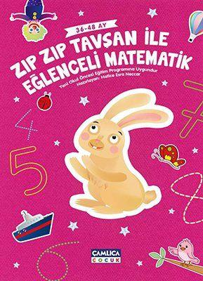 Zıpzıp Tavşanla Eğlenceli Matematik (36-48 Ay)